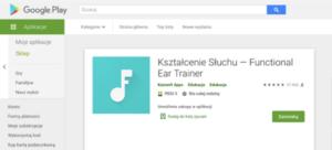 aplikacje z kształcenia słuchu